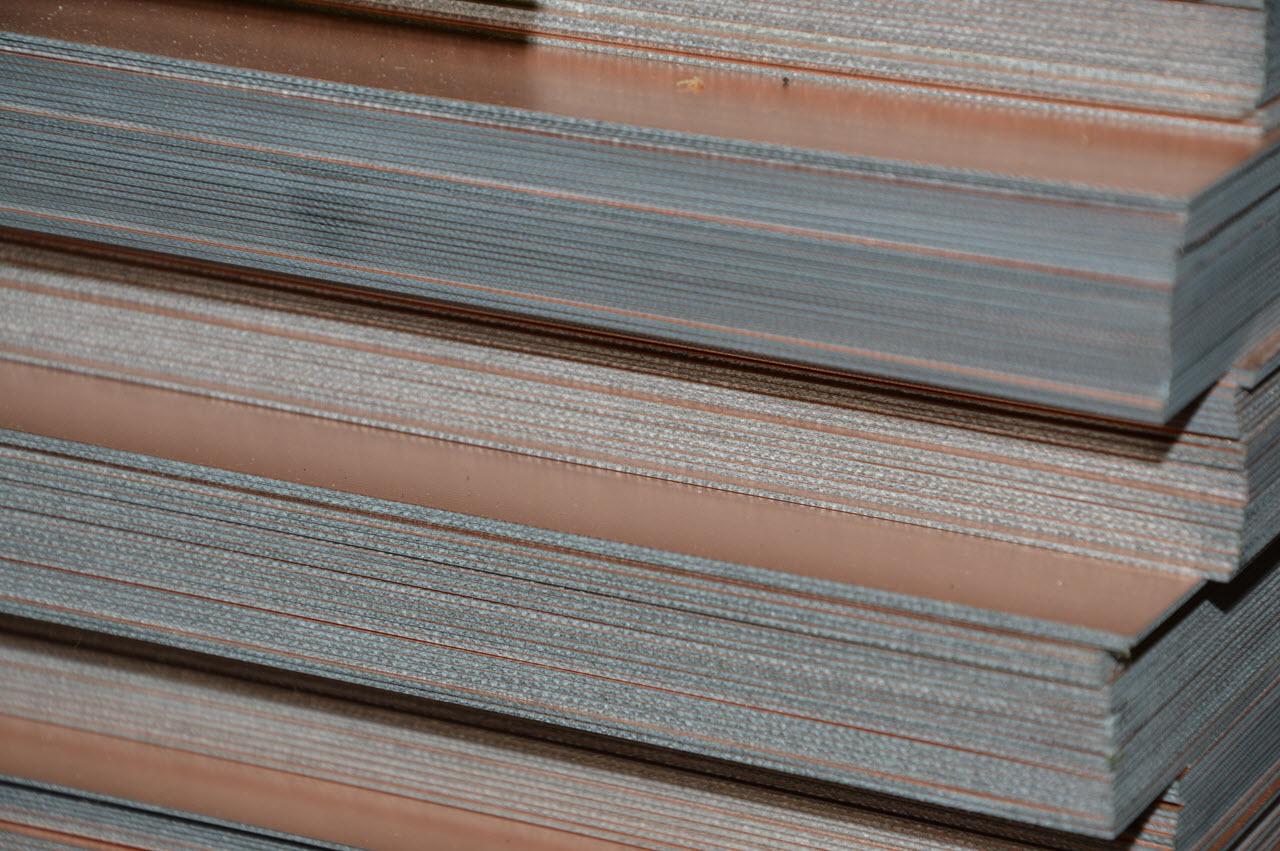Copper Clad Material : Copper clad laminates ccl kl